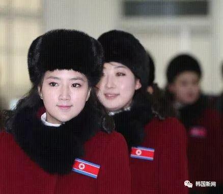 终于来了!时隔12年后,朝鲜拉拉队7日上午抵达韩国