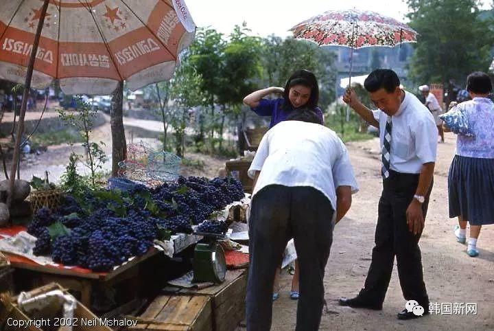 1968年的韩国老照片 50年前的韩国就是这个样子