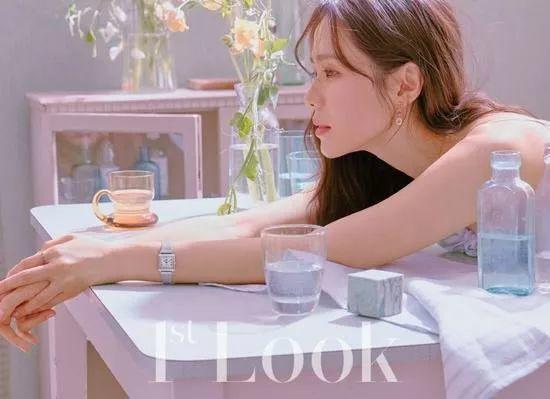 《漂亮姐姐》孙艺珍拍杂志写真 气质温婉