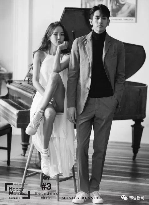 美娜&柳弼立婚纱照公开 两人相差17岁