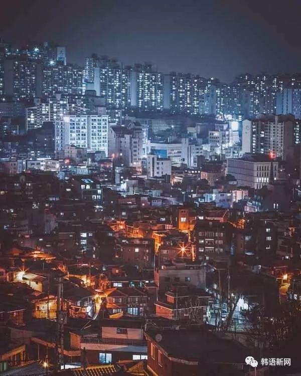 一个美国人镜头下的韩国首尔