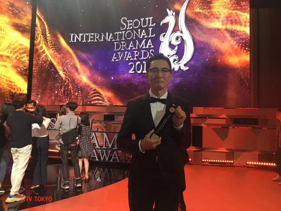 《孤独的美食家》走红韩国 松重丰首尔领奖