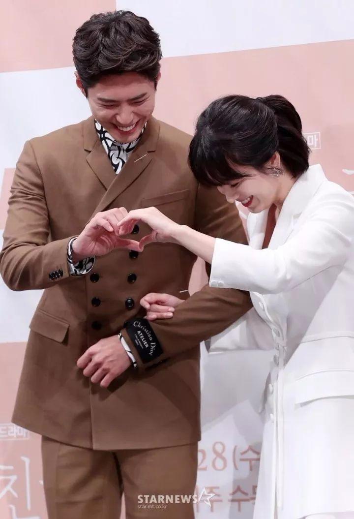 宋慧乔&朴宝剑出席新剧《男朋友》发布会