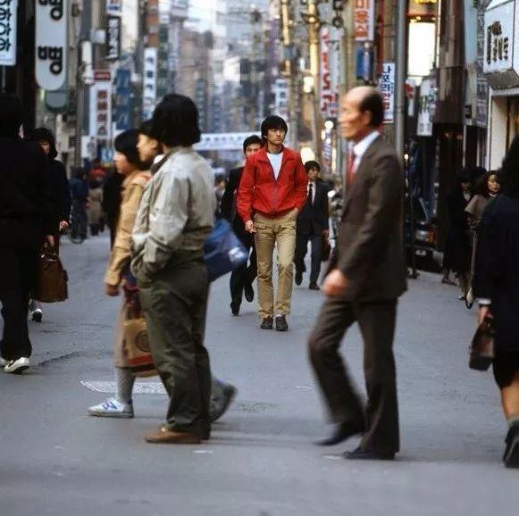 1985年的明洞街头
