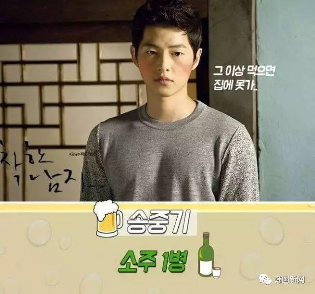 韩国男星酒量揭秘 谁才是酒量NO.1