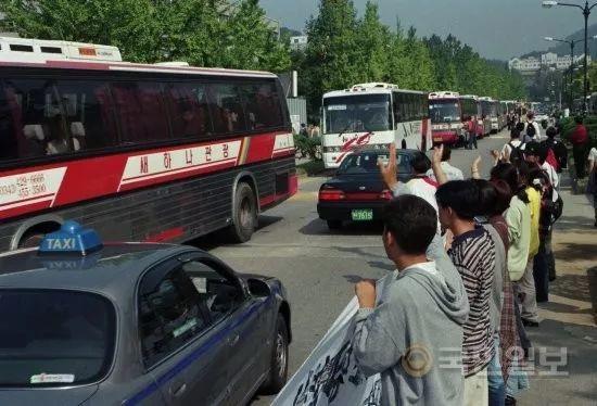 20年前韩国人的中秋返乡路