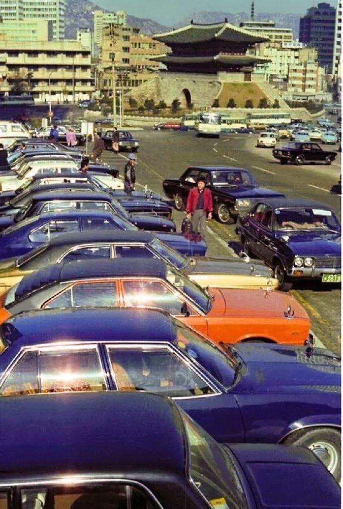 老照片:70年代的韩国