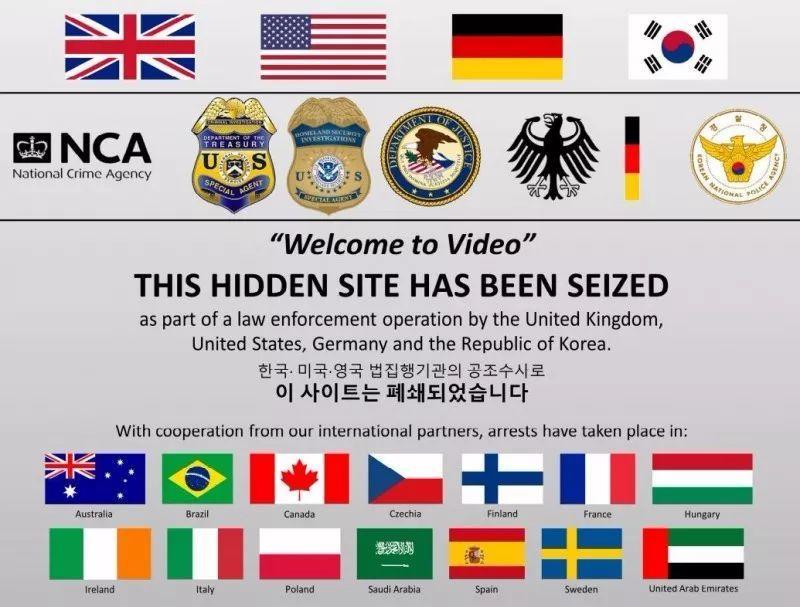 韩美英警方联手捣毁儿童色情网站 抓获337人