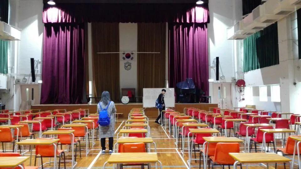 中国香港TOPIK考点:取消11月17日考试